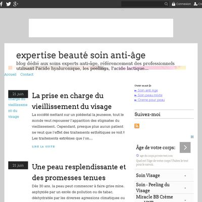 expertise beauté soin anti-âge