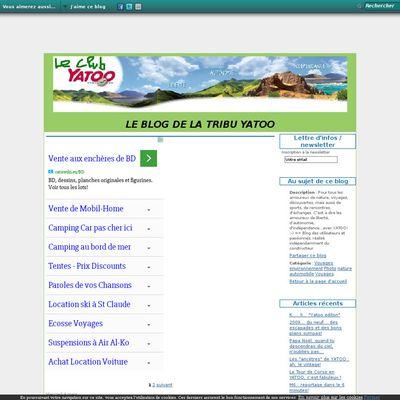 Le blog de club Yatoo