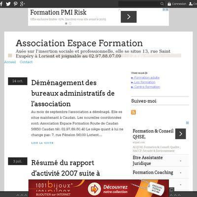 Association Espace Formation
