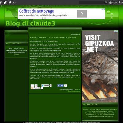 Blog di claude3