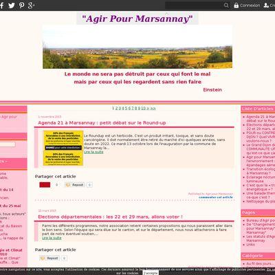Le blog de Agir pour Marsannay