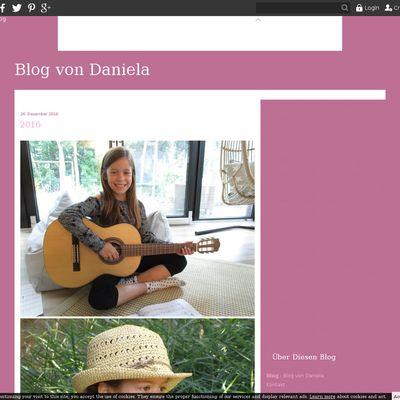 Blog von Daniela