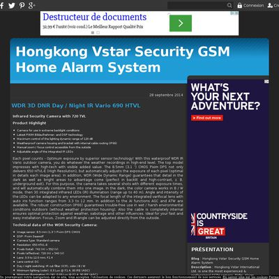 Hongkong Vstar Security GSM Home Alarm  System