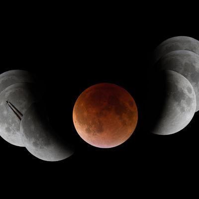 L'éclipse de Lune du 28 Septembre 2015