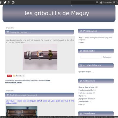 Le blog de lesgribouillisdemaguy.over-blog.com