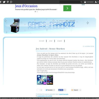 Le blog de games-paradiz