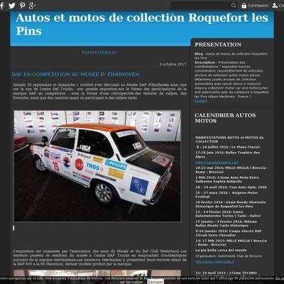 Autos et motos de collection Roquefort les Pins