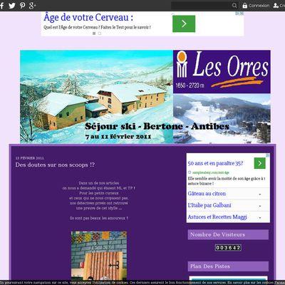 Séjour ski - Bertone Antibes - 2011
