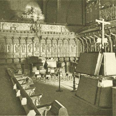 Sillería del coro de la catedral de Pamplona (Navarra)