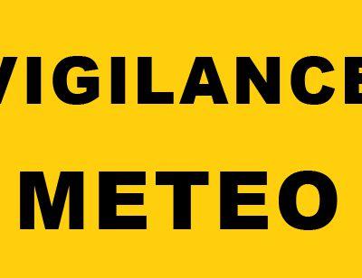 Vigileance météorologique pour ce week-end
