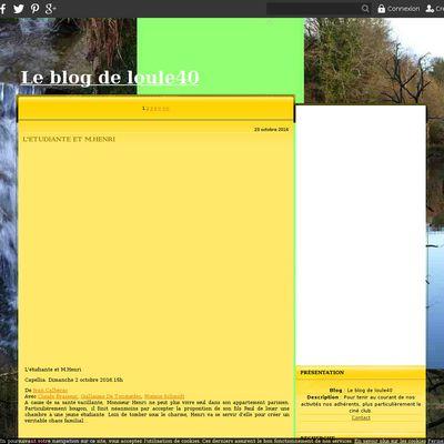 Le blog de loule40