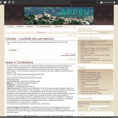 Association de Protection du Paysage Vinsobrais