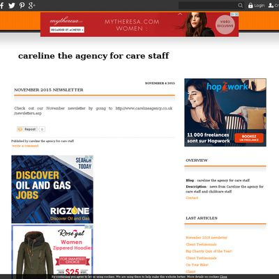 Careline the agency for care staff