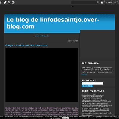 Le blog de linfodesaintjo.over-blog.com