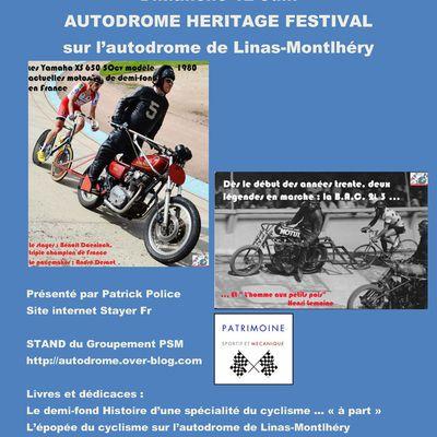 Expo : Du tandem à la motocyclette, 120 ans de demi-fond