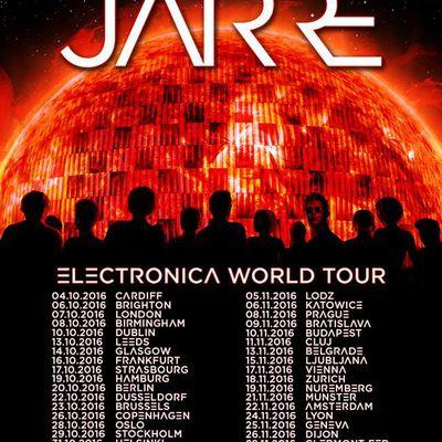 La tournée 2016 d'Electronica compte 45 dates !