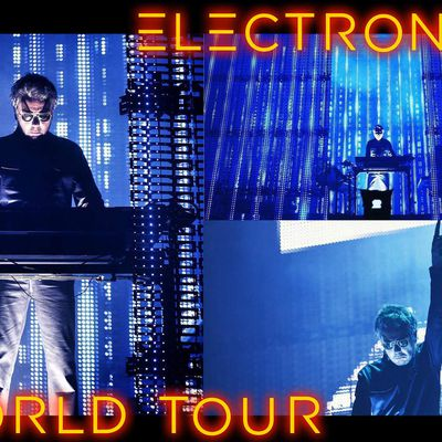 Electronica World Tour à Barcelone: la tracklist