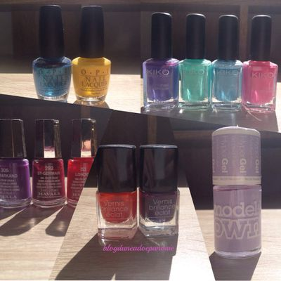 Ma collection de vernis !