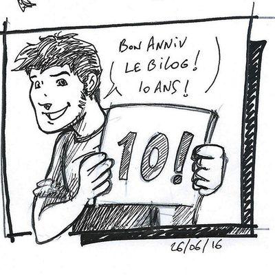 Anniversaire le Bilog Tibo ! 10 ANS !!!