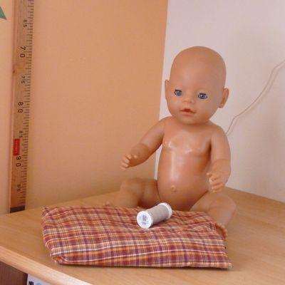 Jupe et dos nu pour la poupée Capucine