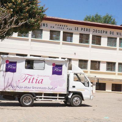 L'association Fitia au Centre des Paulins, 6 octobre 2015