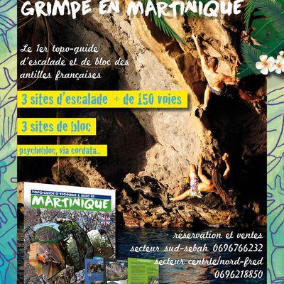 Topo d'escalade et de Bloc Martinique