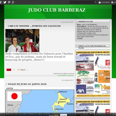 JUDO CLUB BARBERAZ