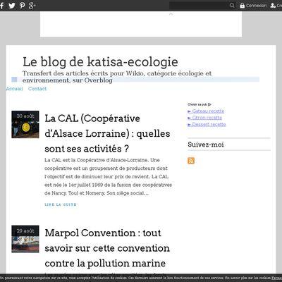 Le blog de katisa-ecologie