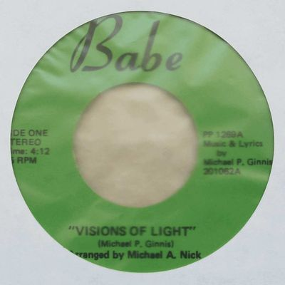 Michael P. Ginnins - Visions Of Light / If Light Could Only Hear (197x)