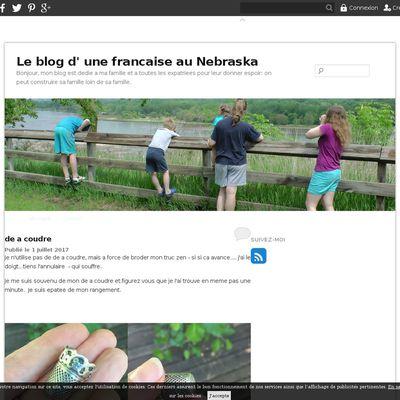 Le blog d' une francaise au Nebraska