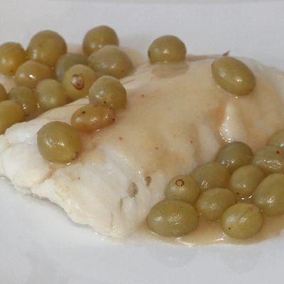 Filet de poisson aux raisins