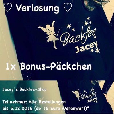 Backfee-Shop Verlosung