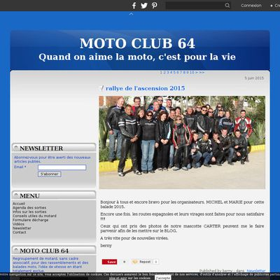 Le blog du Moto-Club 64
