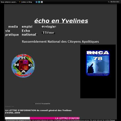 Le blog de association Echo Yvelines National