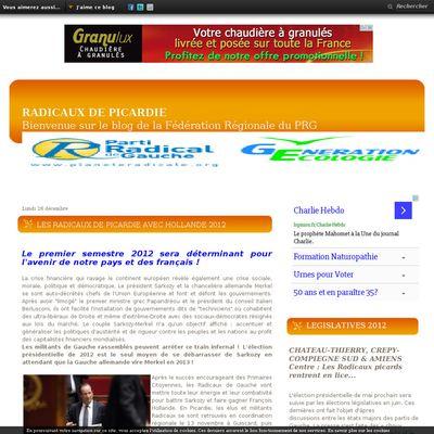 Le blog des Radicaux de Picardie