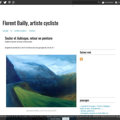 Florent Bailly, artiste cycliste