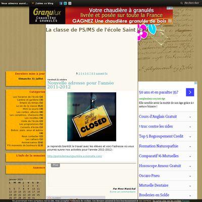 Le blog des PS/MS de l'école St Jean à Meung sur Loire