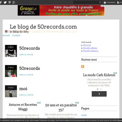 Le blog de 50records.com
