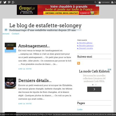 Le blog de estafette-selongey