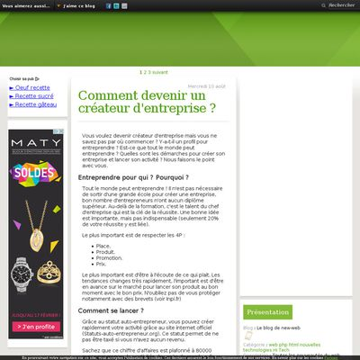 Le blog de new-web