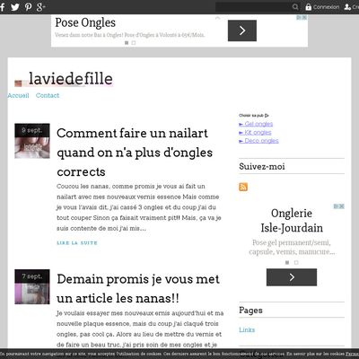 laviedefille