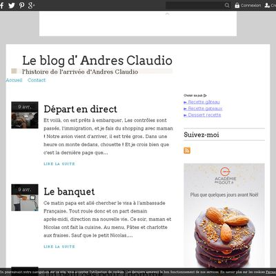 Le blog d' Andres Claudio