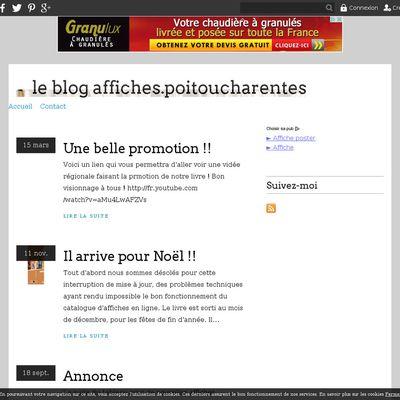 le blog affiches.poitoucharentes