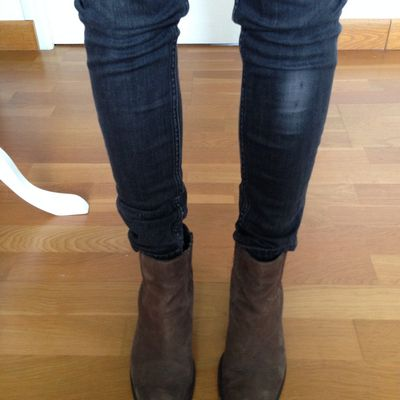 Boots Bruno Premi couleur taupe