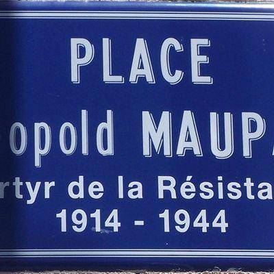 Un nom, un résistant : Léopold MAUPAS de Moulins