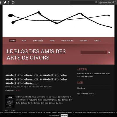 Le blog des Amis des Arts de Givors
