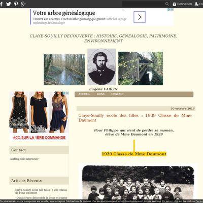 CLAYE-SOUILLY DECOUVERTE : HISTOIRE, GENEALOGIE. ENVIRONNEMENT