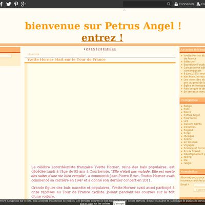 le blog petrus.angel