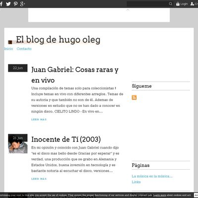 El blog de hugo oleg