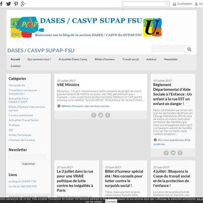 DASES / CASVP    SUPAP-FSU